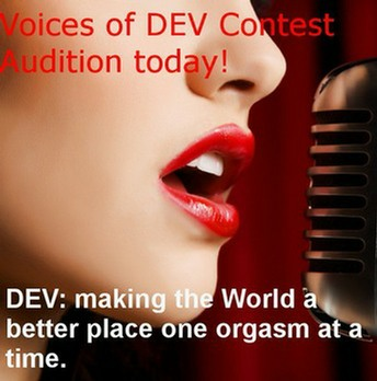 Would you like to be one of the voices to bring orgasmic pleasure to millions? Click here to find out how!